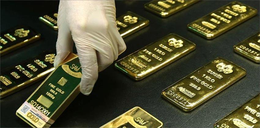 احتياطات روسيا من الذهب خلال شهر اذار