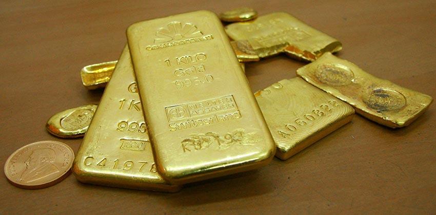 أكثر الدول شراء للذهب