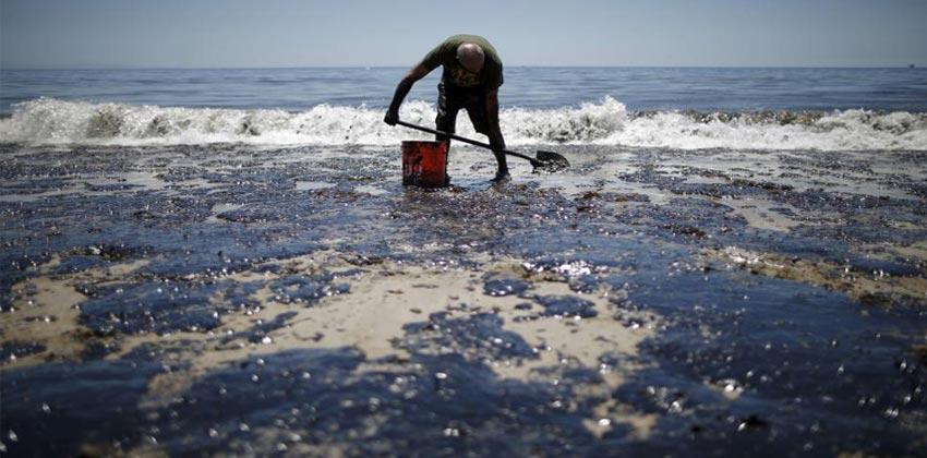 التسرب النفطي في العالم وأثره المدمر