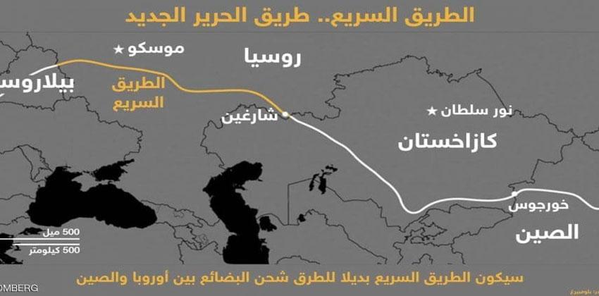 طريق يغيّر خريطة العالم