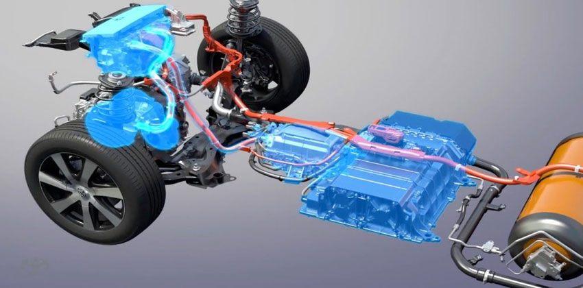 خلايا الوقود في سيارات الهيدروجين
