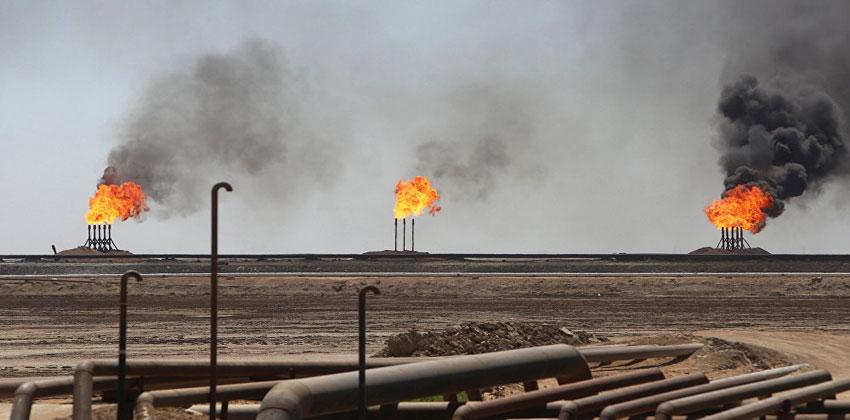 العراق-غاز- حقول- 600 مليون قدم مكعب