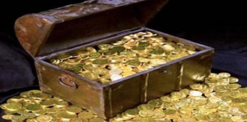 استخراج الذهب المدفون