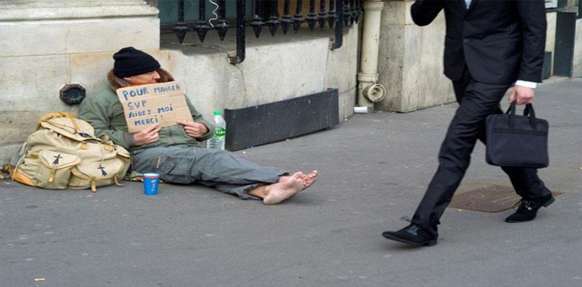 الفقر في فرنسا