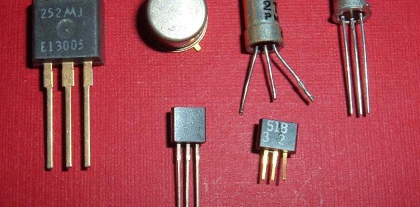 أنواع الترانزستور واستخداماته