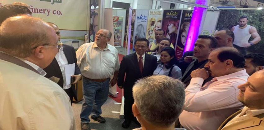 جناح مصفاة دمشق للبتروكيماويات في معرض دمشق الدولي