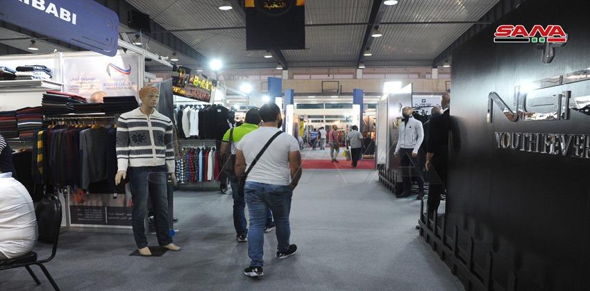 المعرض التخصصي للألبسة الرجالية والأحذية والجلديات