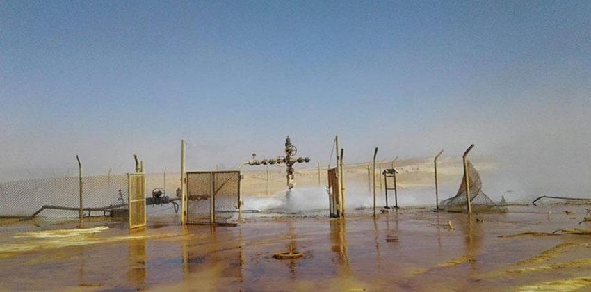 سوريا تعيد تشغيل بئر غاز