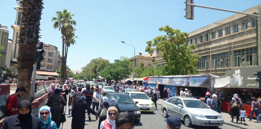 ميترو الأنفاق في دمشق