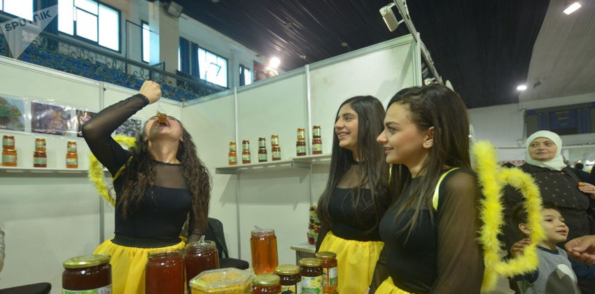 المهرجان الأول لتذوق العسل السوري