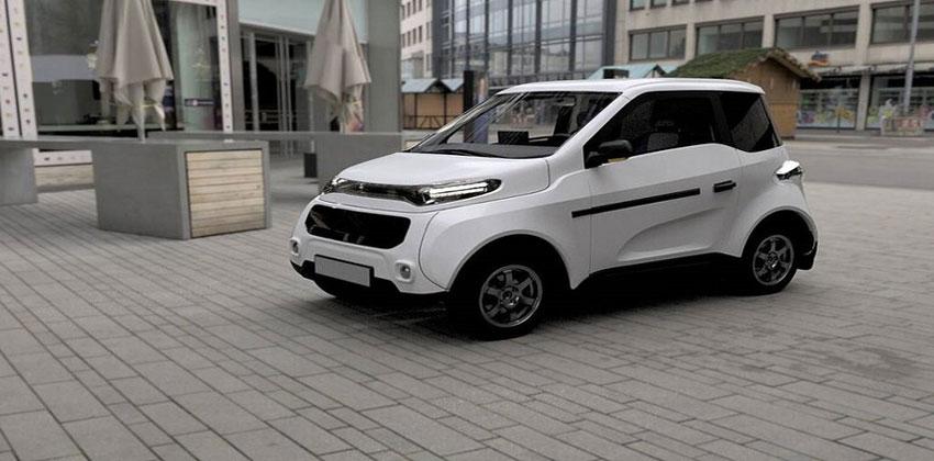 سيارة كهربائية روسية