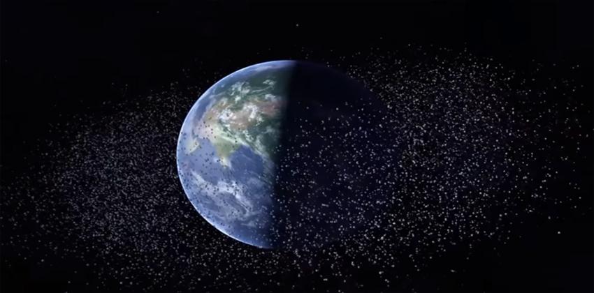 الصين تطور تقنيات جديدة لمحاربة النفايات الفضائية
