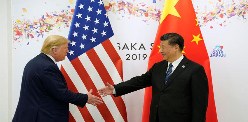 الحرب التجارية بين واشنطن وبكين