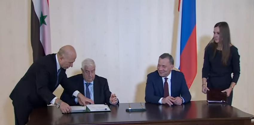 اتفاقية روسية سورية لتسهيل العمل الجمركي
