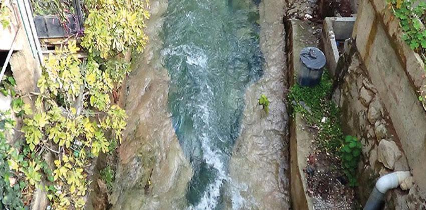 مياه الشرب الملوثة