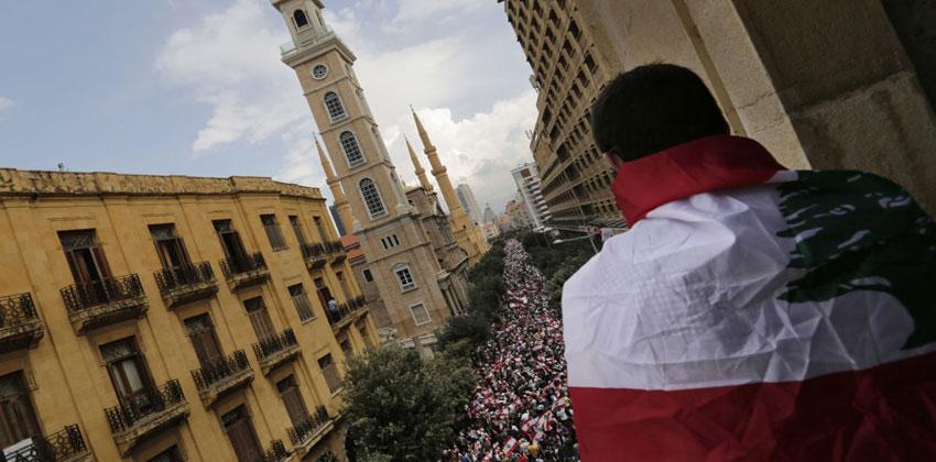 الأزمة اللبنانية