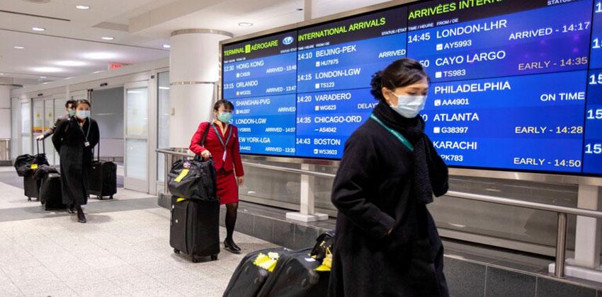 شركات الطيران التي علقت رحلاتها إلى الصين