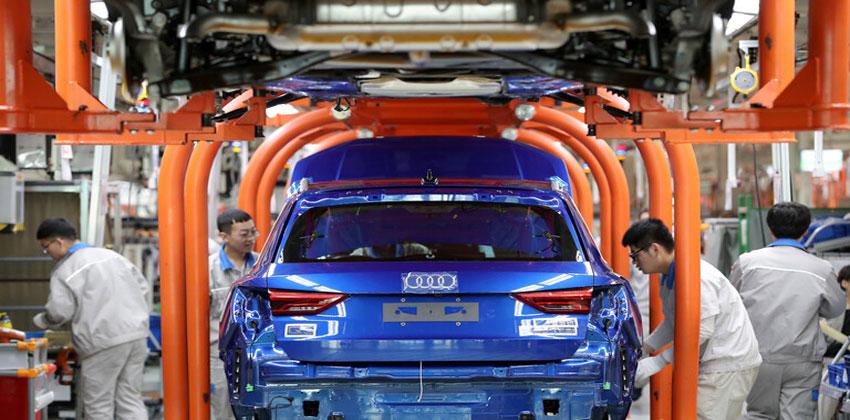 قطاع صناعة السيارات الصيني