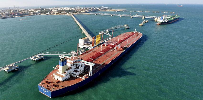 واردات النفط الصينية