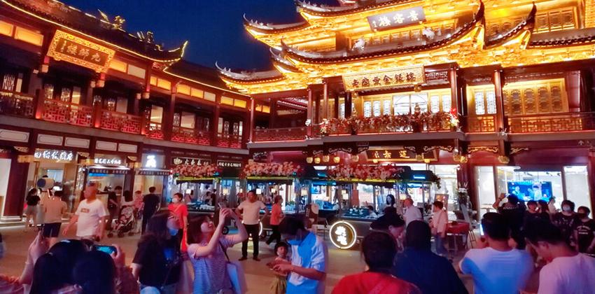 السوق الاستهلاكية الصينية