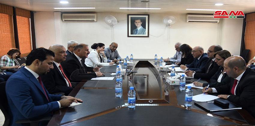مباحثات سورية عراقية