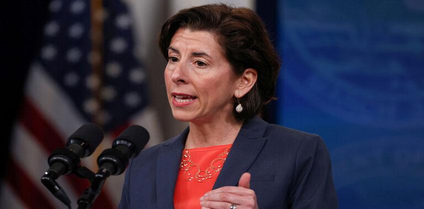 وزيرة التجارة الأمريكية