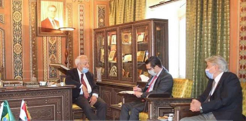 مجلس رجال الأعمال السوري البرازيلي